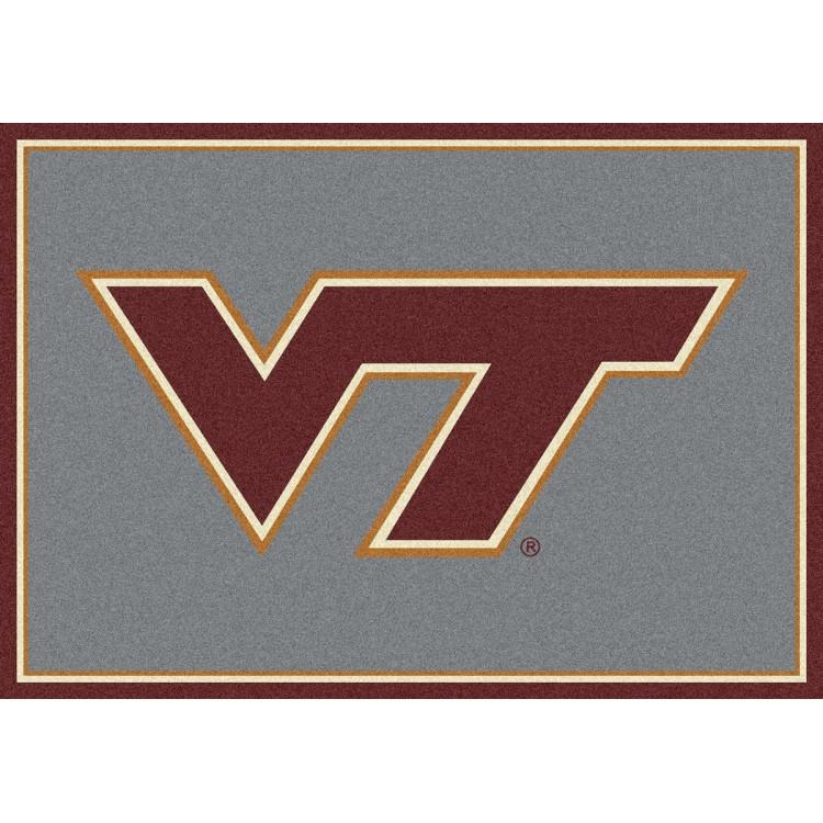 "Virginia Tech Hokies 2'8""x3'10"" College Team Spirit Area Rug"