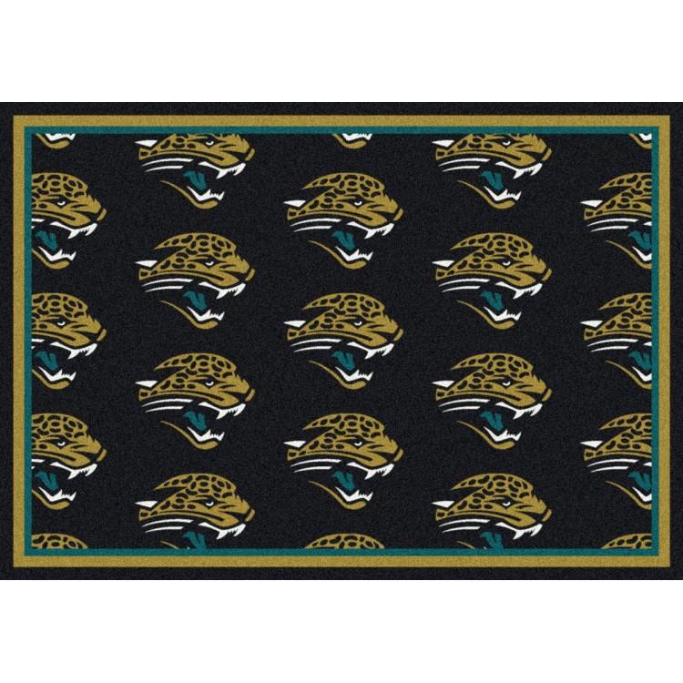 """Jacksonville Jaguars 7'8""""x10'9"""" NFL Team Repeat Area Rug"""