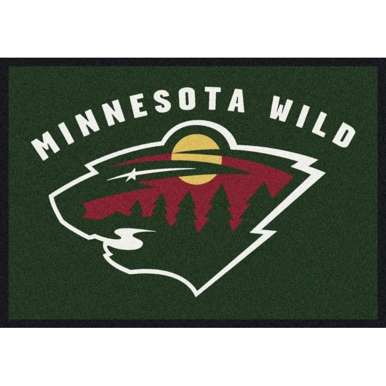 "Minnesota Wild 7'8""x10'9"" NHL Team Spirit Area Rug"