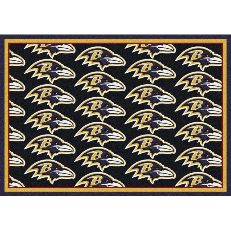 "Baltimore Ravens 3'10""x5'4"" NFL Team Repeat Area Rug"