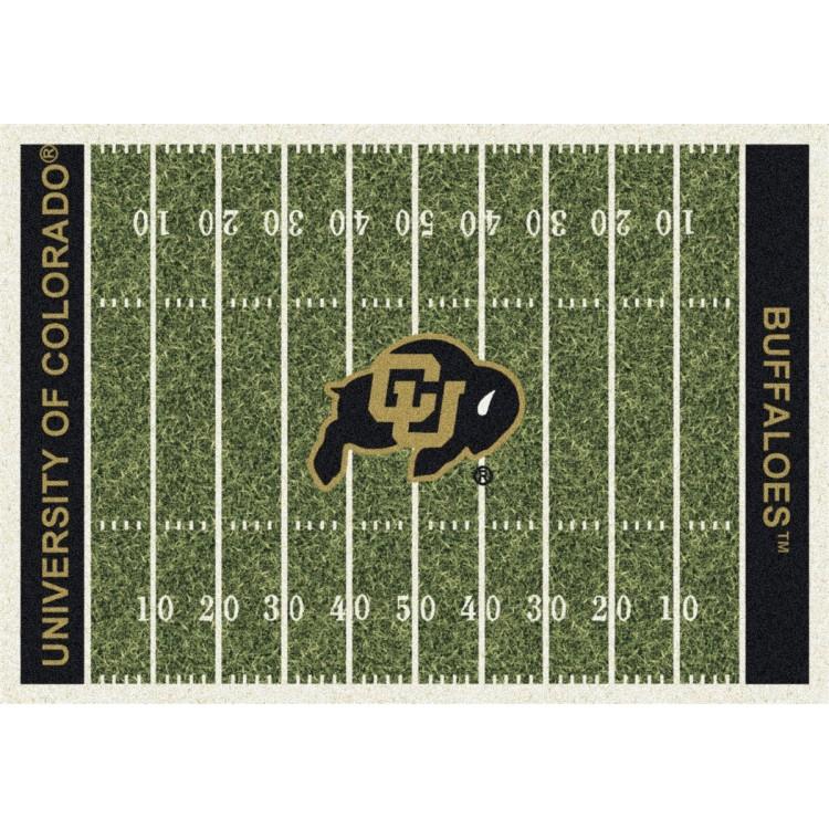 "Colorado 3'10""x5'4"" College Home Field Area Rug"