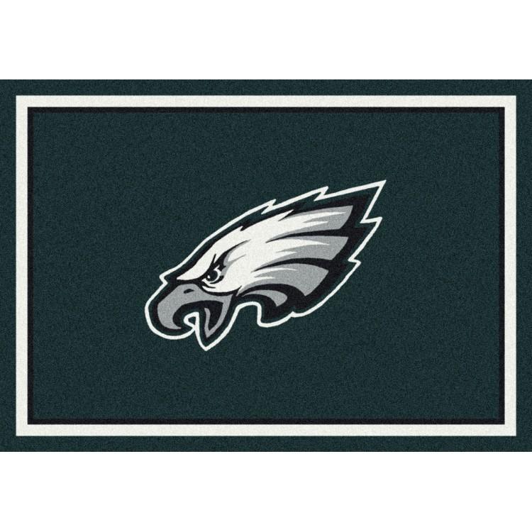 """Philadelphia Eagles 7'8""""x10'9"""" NFL Team Spirit Area Rug"""
