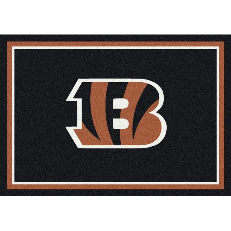 "Cincinnati Bengals 10'9""x13'2"" NFL Team Spirit Area Rug"