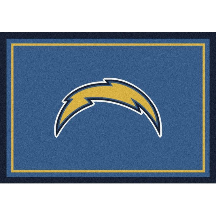 "San Diego Chargers 5'4""x7'8"" NFL Team Spirit Area Rug"