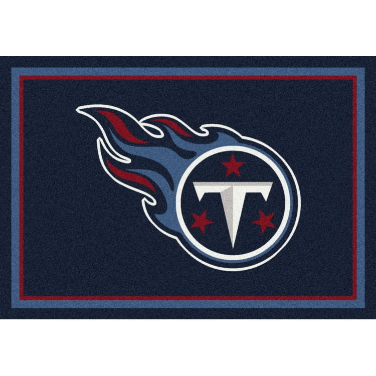 "Tennessee Titans 5'4""x7'8"" NFL Team Spirit Area Rug"