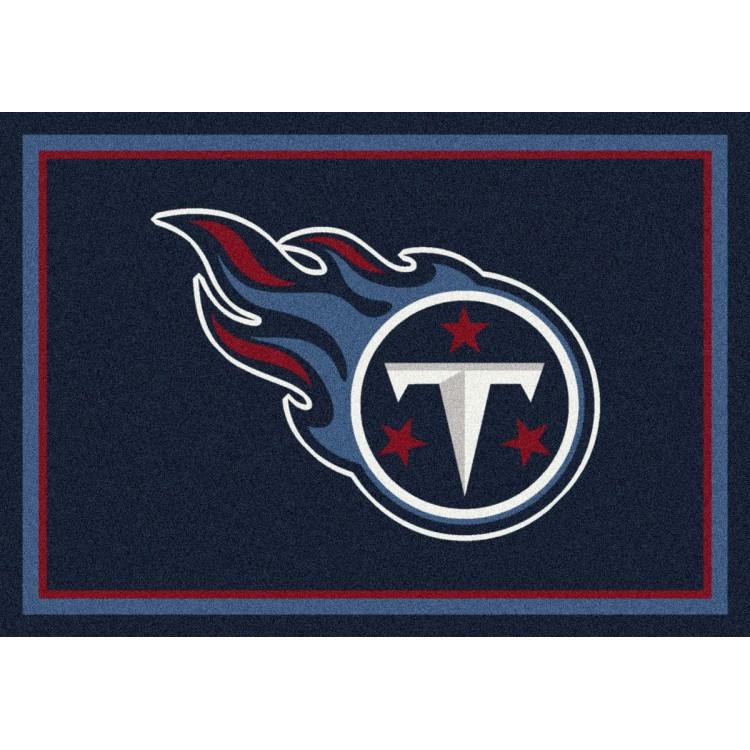 "Tennessee Titans 7'8""x10'9"" NFL Team Spirit Area Rug"