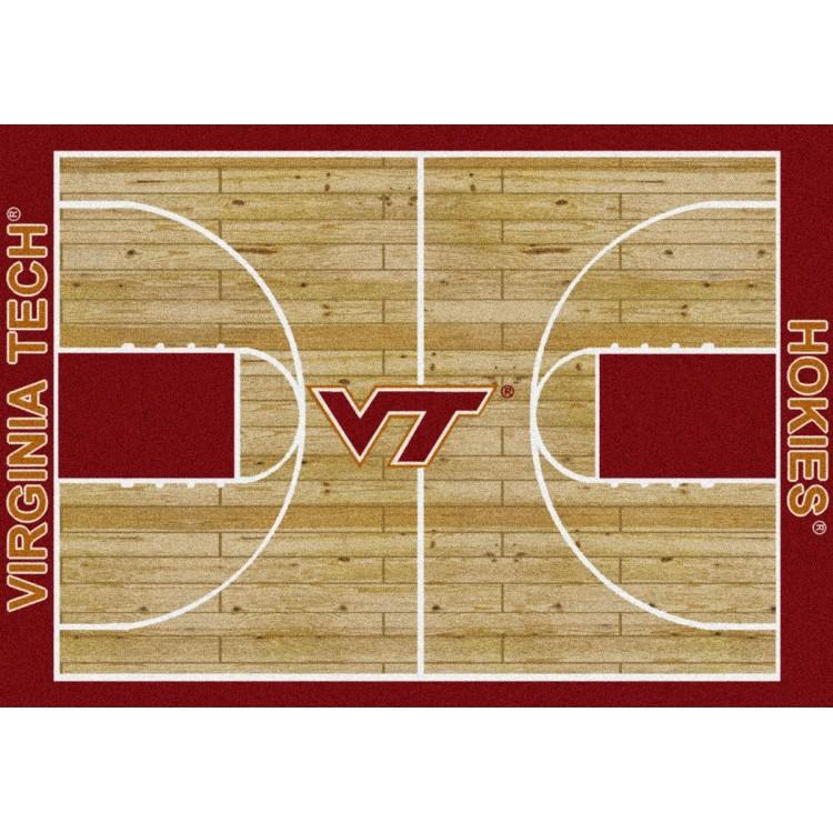 "Virginia Tech Hokies 10'9""x13'2"" College Home Court Area Rug"