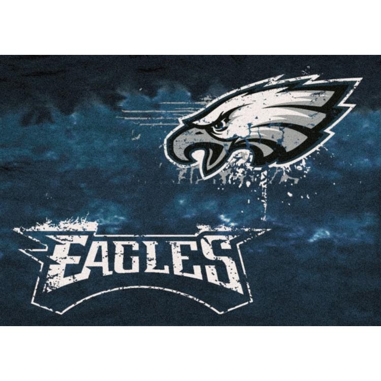 "Philadelphia Eagles 3'10""x5'4"" NFL Team Fade Area Rug"