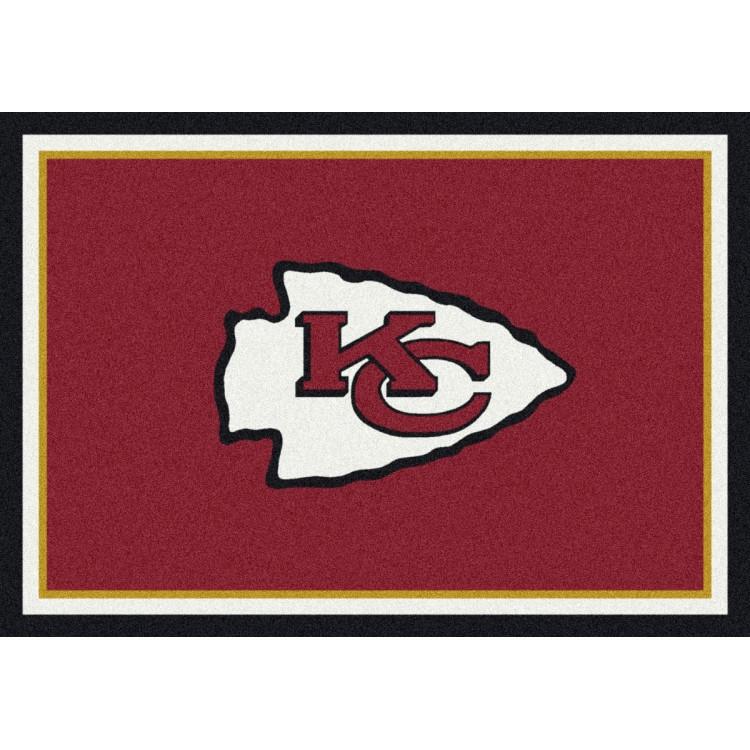 "Kansas City Chiefs 2'8""x3'10"" NFL Team Spirit Area Rug"