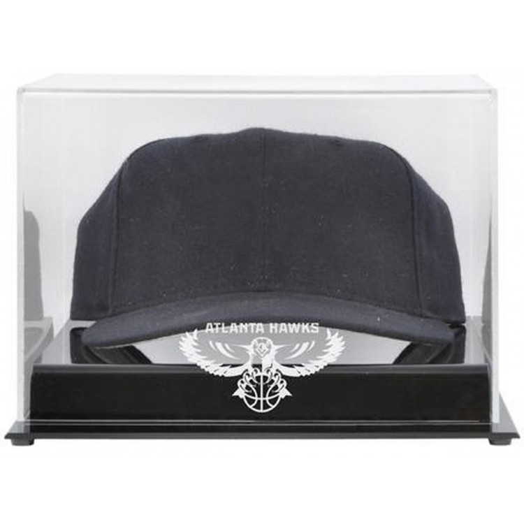 Atlanta Hawks Acrylic Team Logo Cap Display Case