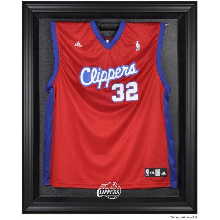 Los Angeles Clippers Black Framed Team Logo Jersey Display Case