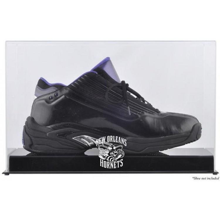 New Orleans Hornets Team Logo Basketball Shoe Display Case