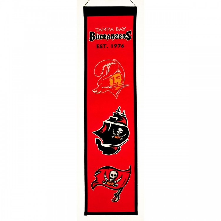 Tampa Bay Buccaneers Heritage Banner