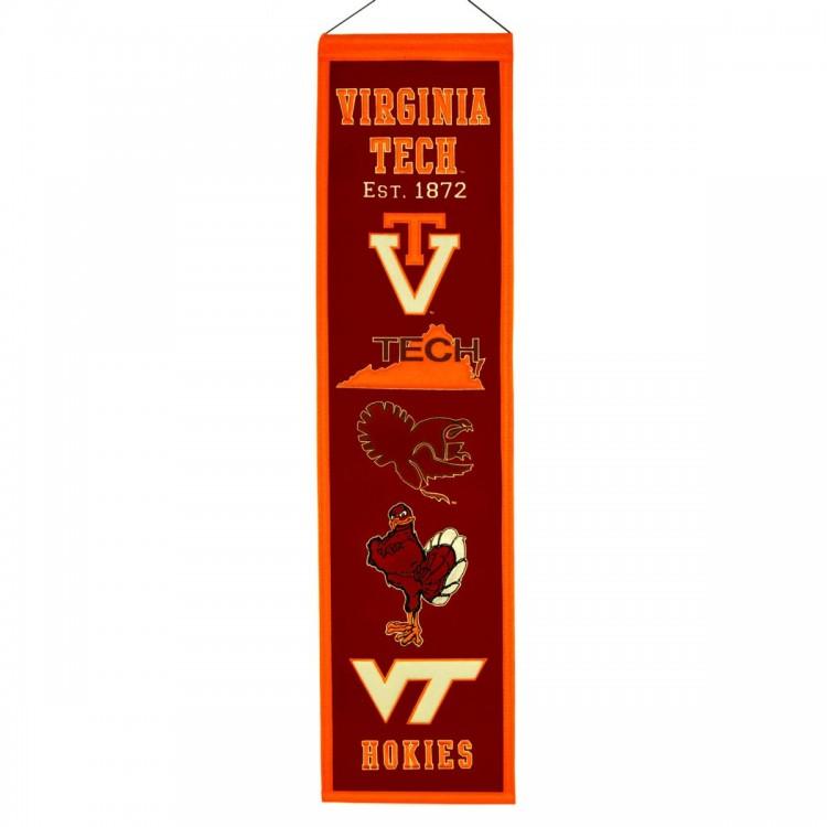 Virginia Tech Hokies Heritage Banner