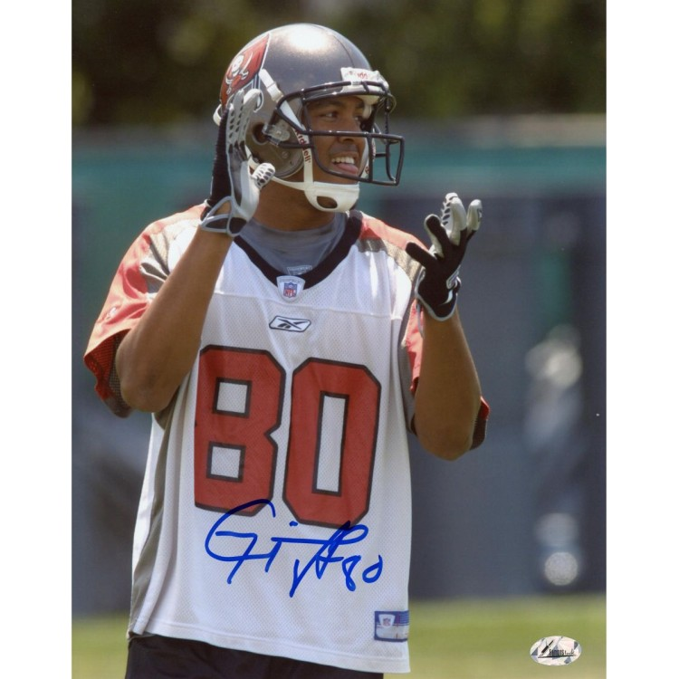 Michael Clayton Tampa Bay Buccaneers Autographed 8'' x 10'' About To Clap Photograph
