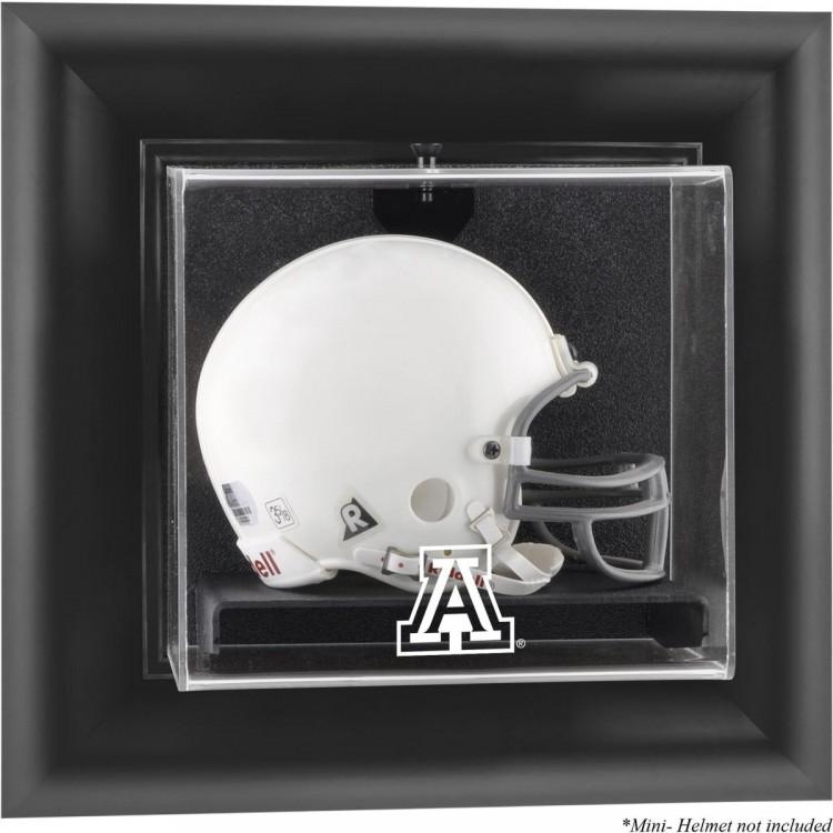 Arizona Wildcats Black Framed Wall-Mountable Mini Helmet Display Case