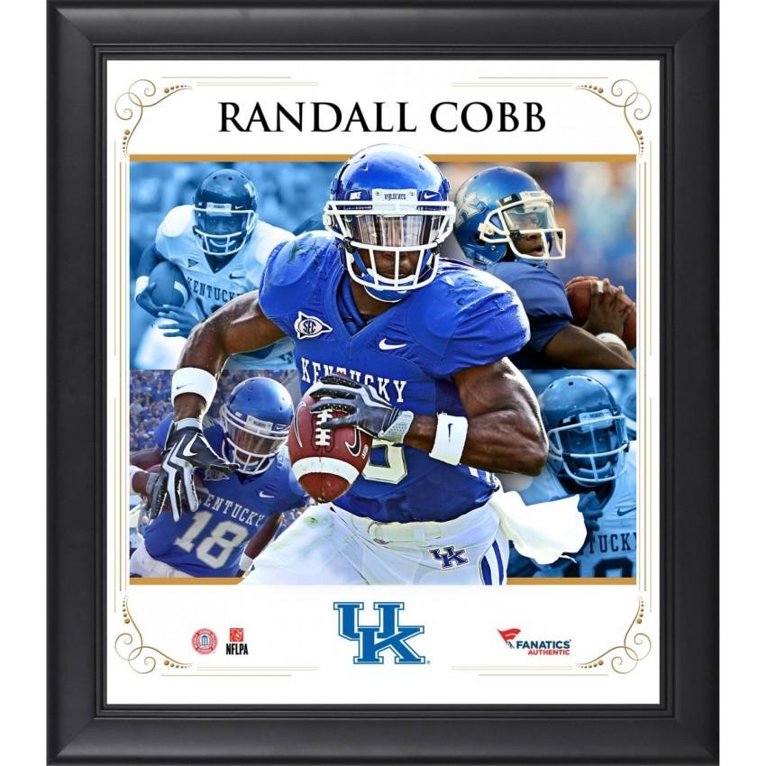 official photos ef54f c36fb Randall Cobb Kentucky Wildcats Framed 15'' x 17'' Core Composite Photograph