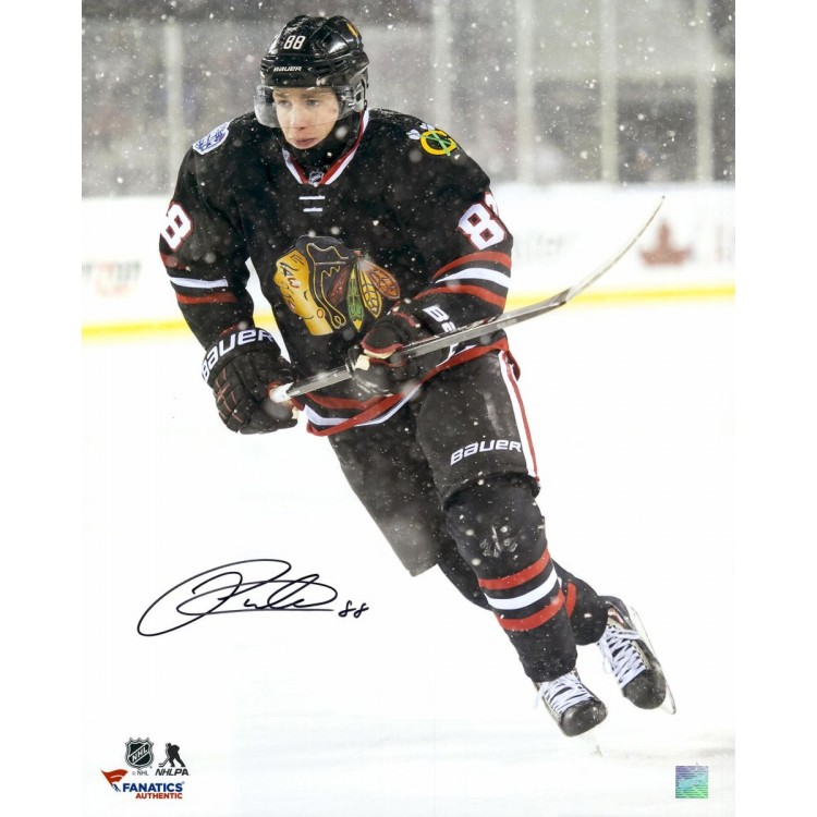 "Patrick Kane Chicago Blackhawks Autographed 16"" x 20"" Stadium Series Photograph"