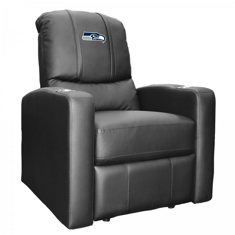 Seattle Seahawks Stealth Recliner with Seahawks Primary Logo
