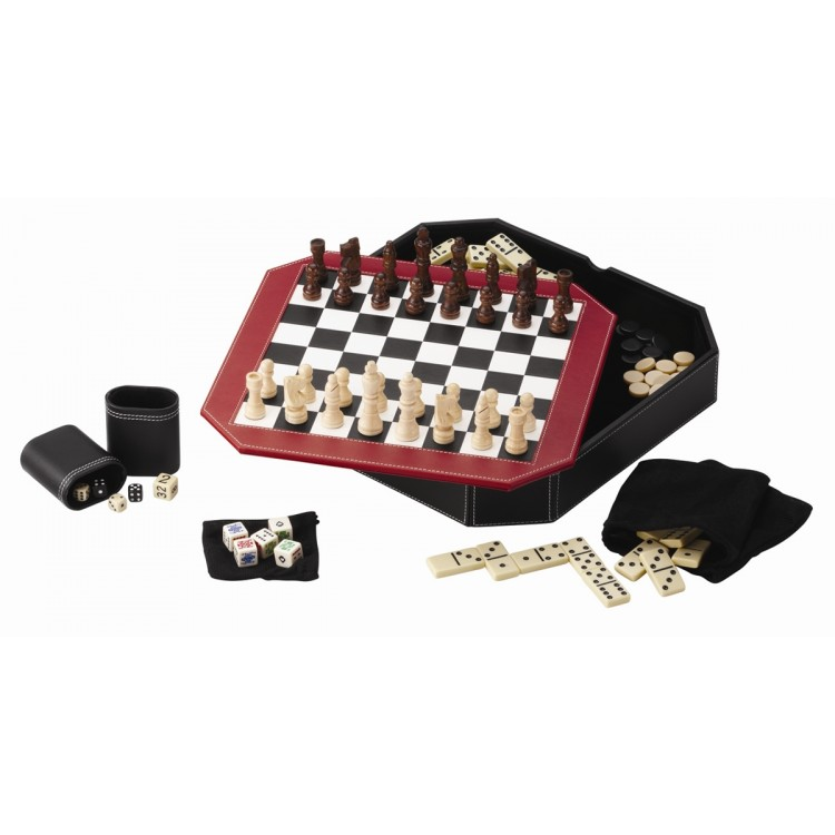 Octagon 5 in 1 Game Set