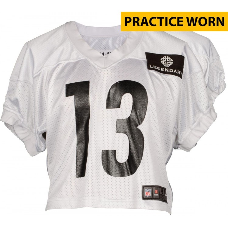 Dri Archer #13 Pittsburgh Steelers Practice Worn White Jersey from 2014 Season