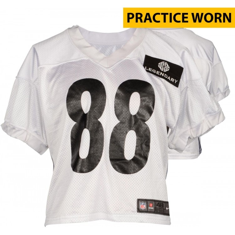 Pittsburgh Steelers #88 Practice Worn White Jersey from 2014 Season