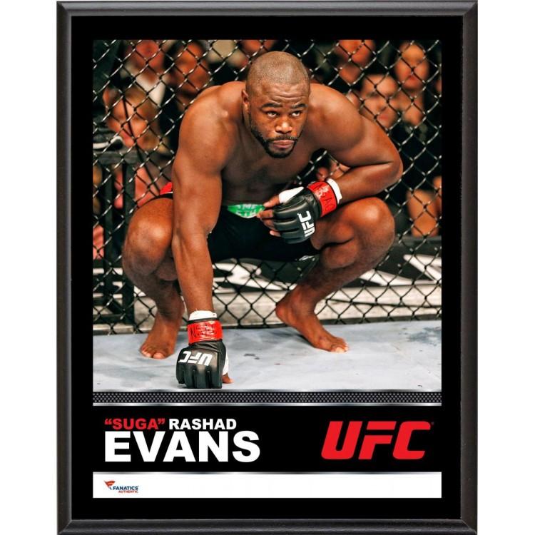 "Rashad Evans Ultimate Fighting Championship 10.5"" x 13"" Sublimated Plaque"