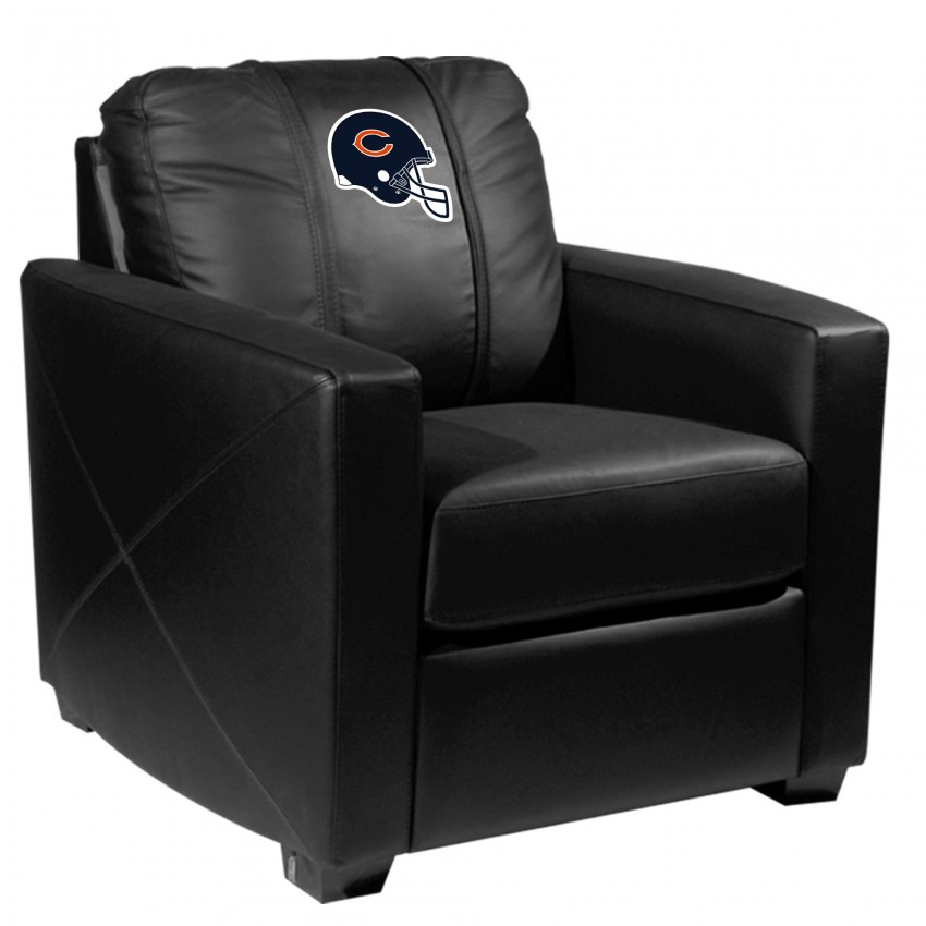 Chicago Bears Silver Club Chair With, Chicago Bears Furniture
