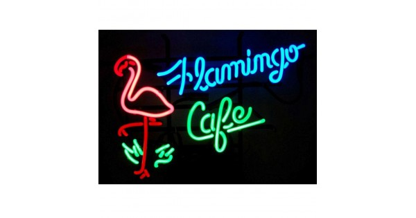 e476823a Flamingo Cafe Neon Sign