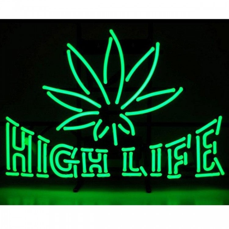 High Life Neon Sign