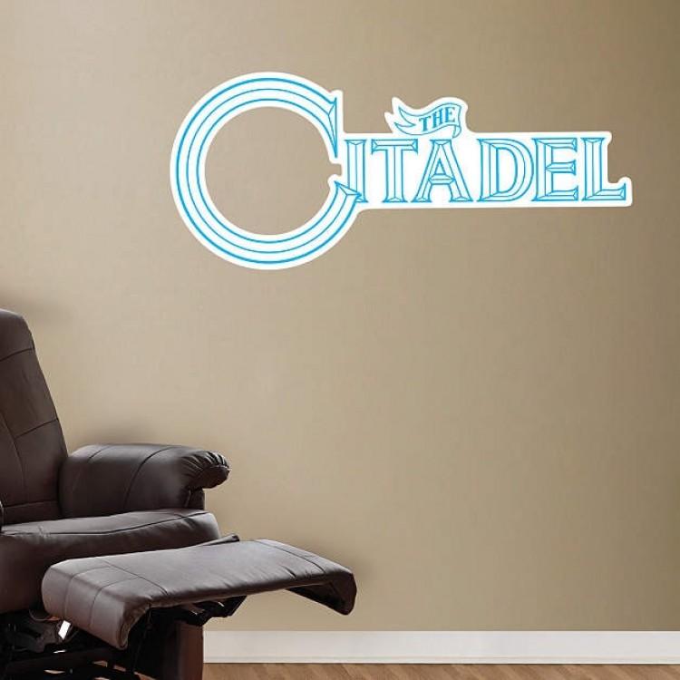 Citadel Bulldogs Logo REAL.BIG. Fathead