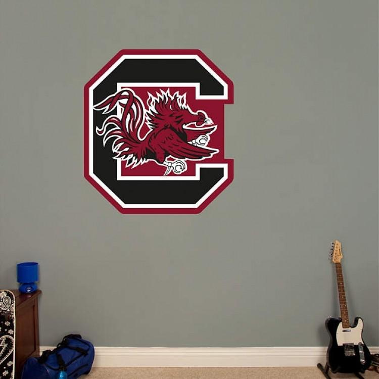 South Carolina Gamecocks Logo REAL.BIG. Fathead