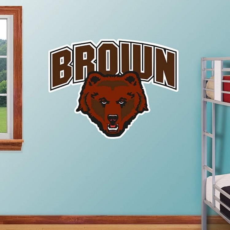 Brown Bears Logo REAL.BIG. Fathead