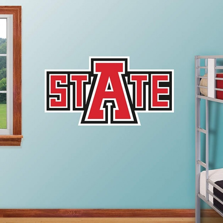 Arkansas State Red Wolves Logo REAL.BIG. Fathead