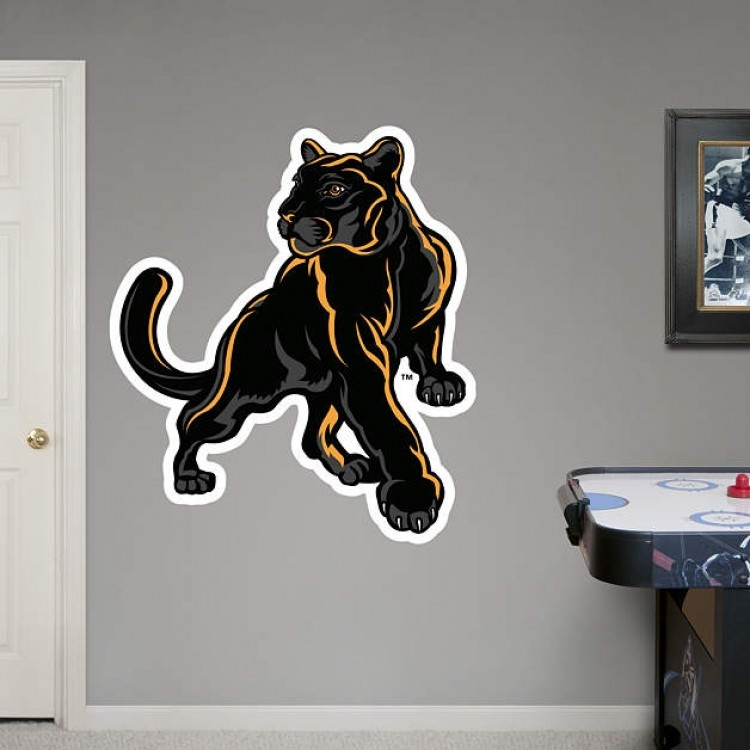 Adelphi Panthers Logo REAL.BIG. Fathead