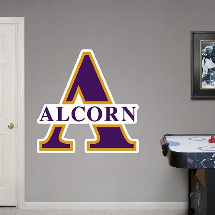 Alcorn State Logo REAL.BIG. Fathead