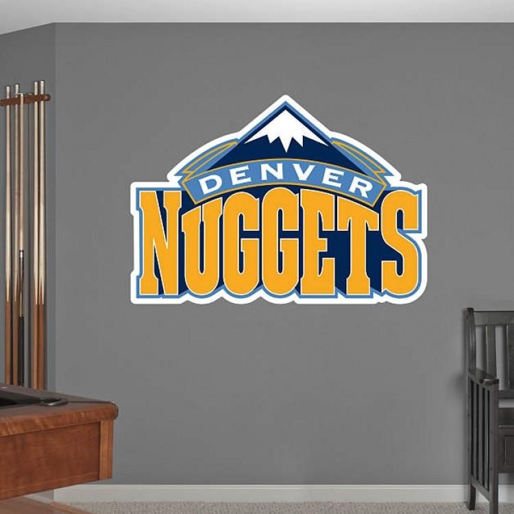 Denver Nuggets Logo REAL.BIG. Fathead