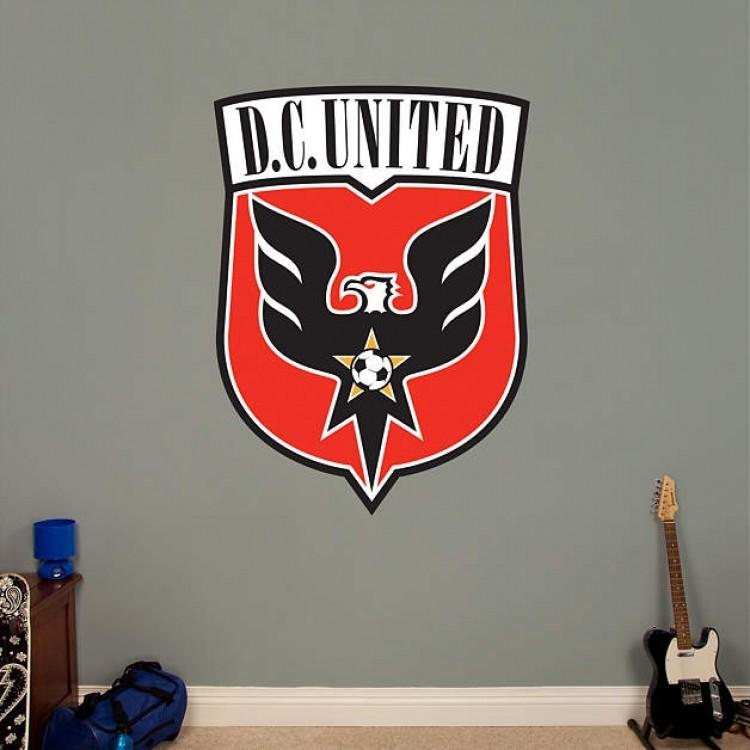 D.C. United Logo REAL.BIG. Fathead