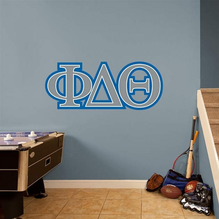 Greek Phi Delta Theta RealBig Logo REAL.BIG. Fathead