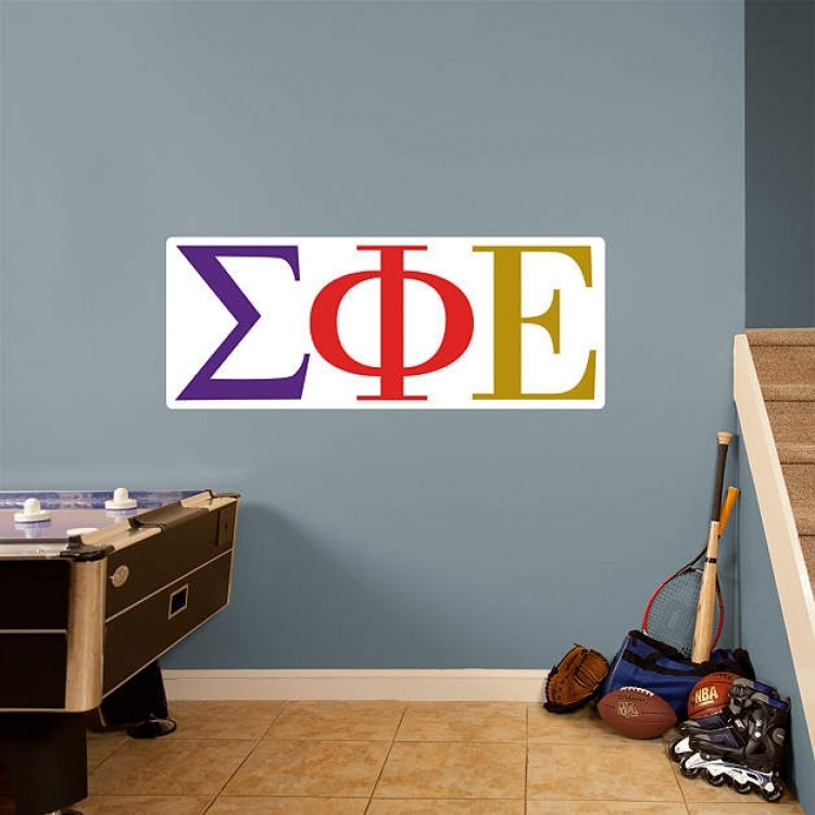 Greek Sigma Phi Epsilon RealBig Logo REAL.BIG. Fathead