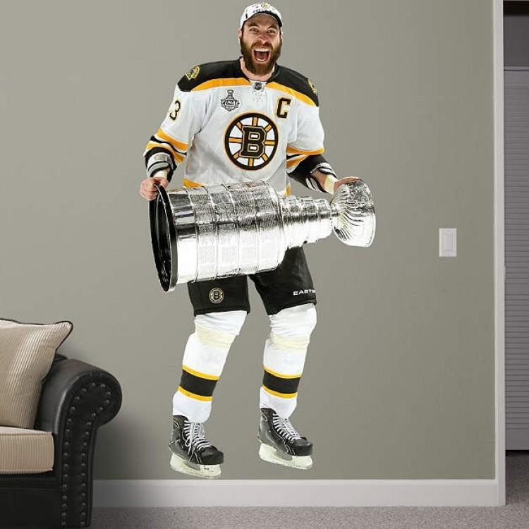 Boston Bruins - Zdeno Chara Stanley Cup REAL.BIG. Fathead