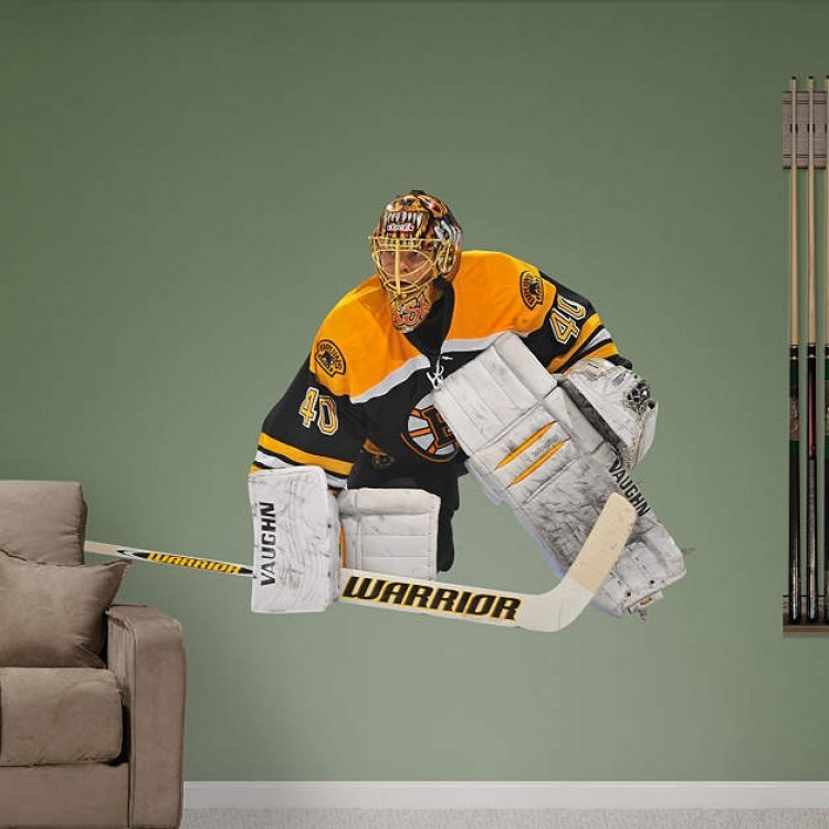 Tuukka Rask Boston Bruins REAL.BIG. Fathead