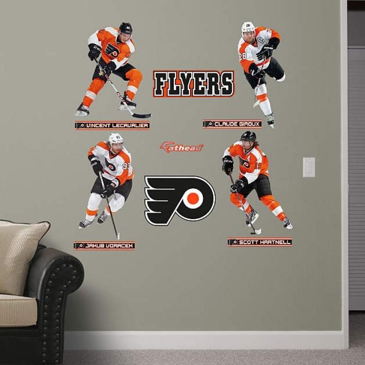 NHL Philadelphia Flyers 2013-2014 RealBig Power Pack REAL.BIG. Fathead