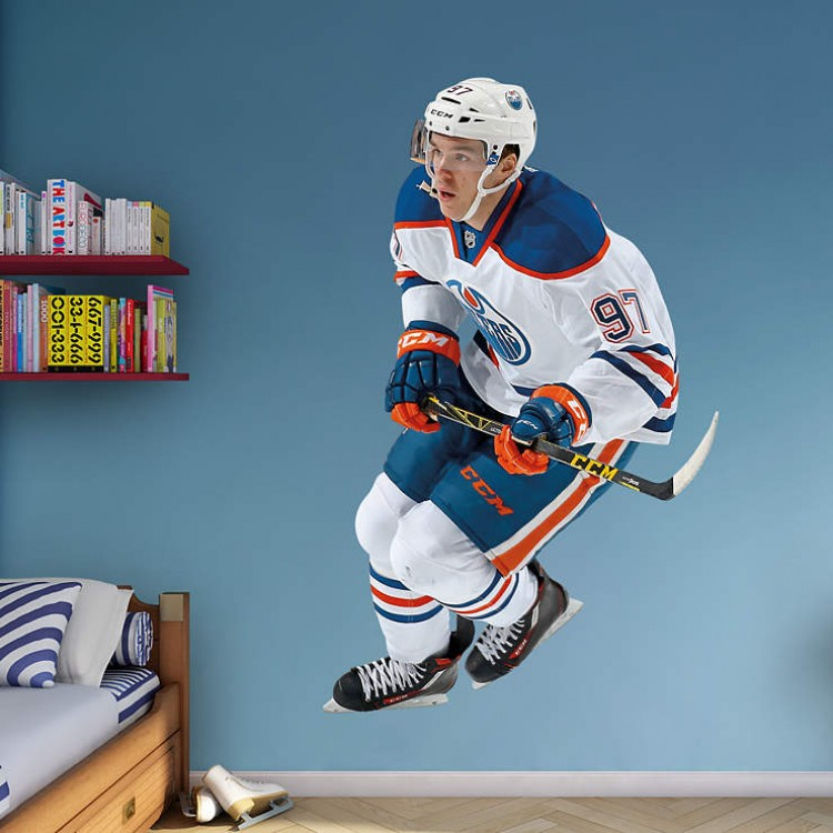 Connor McDavid - Edmonton Oilers REAL.BIG. Fathead