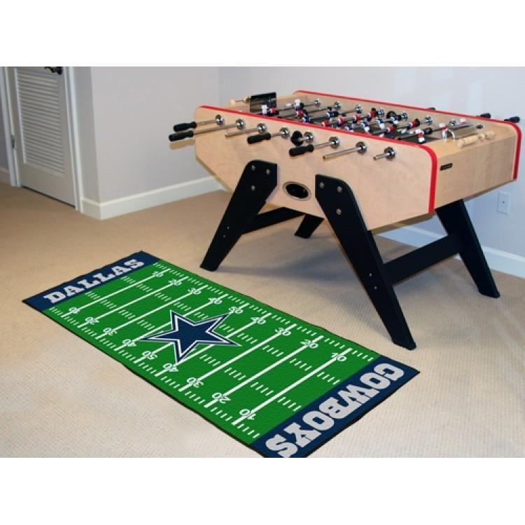 Dallas Cowboys Football Field Runner