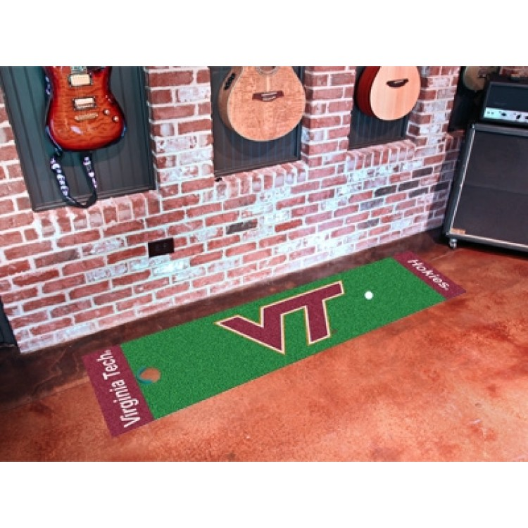 Virginia Tech Hokies Putting Green Mat