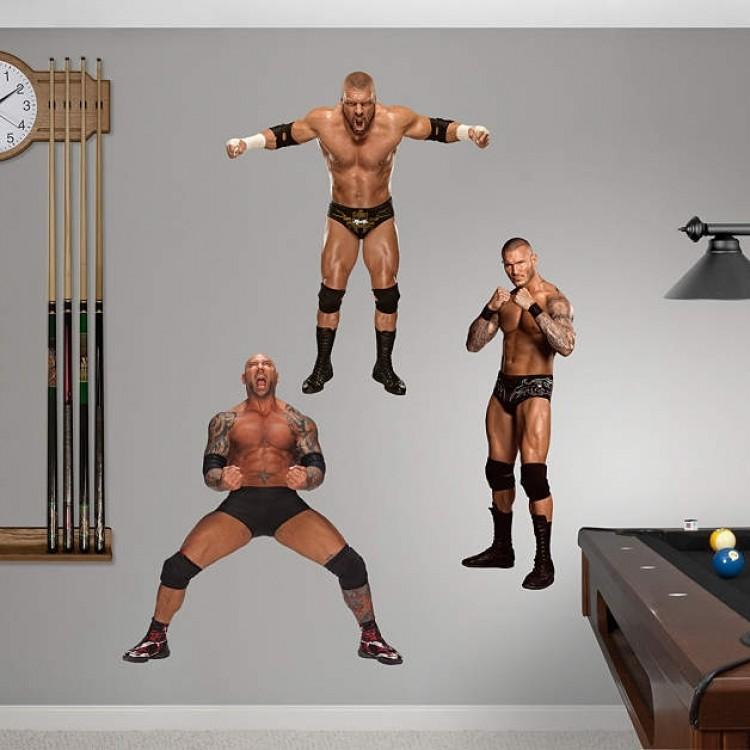 WWE Evolution REAL.BIG Fathead Collection