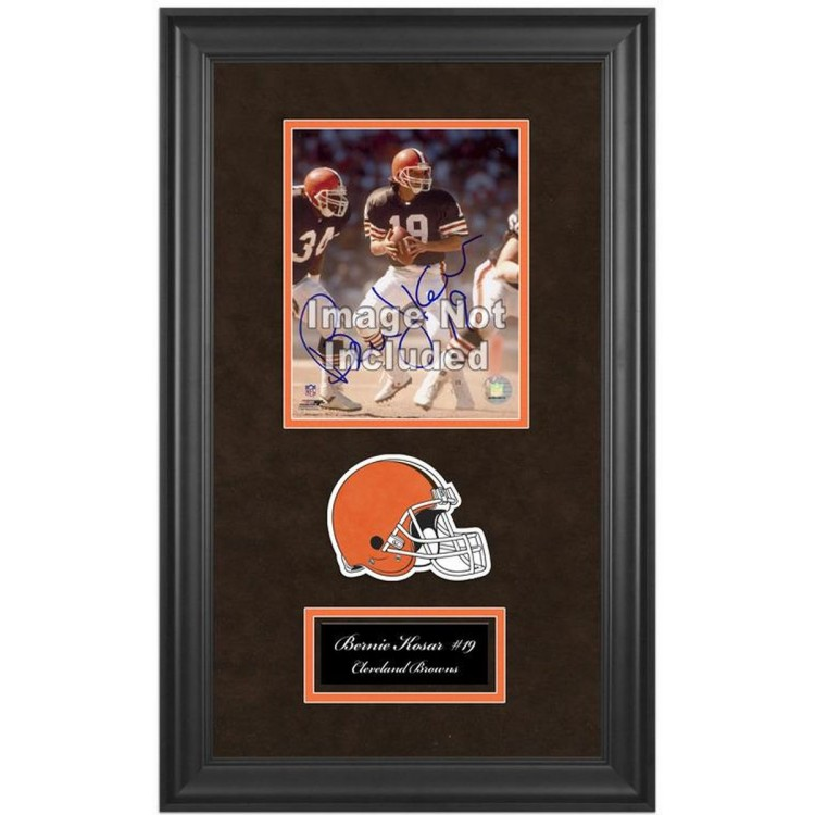 """Cleveland Browns Deluxe Vertical 8"""" x 10"""" Team Logo Frame with Team Logo"""