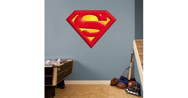 Superman Logo Real Big Fathead