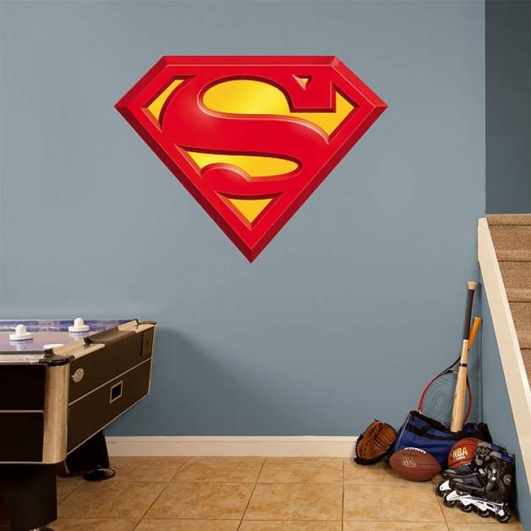 Superman Logo REAL.BIG Fathead
